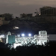 Acropolis in Athens goes dark for Earth Hour on March 28
