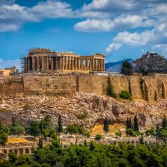 «Sacred Rock» first stop #Acropolis #Athens #Greece!