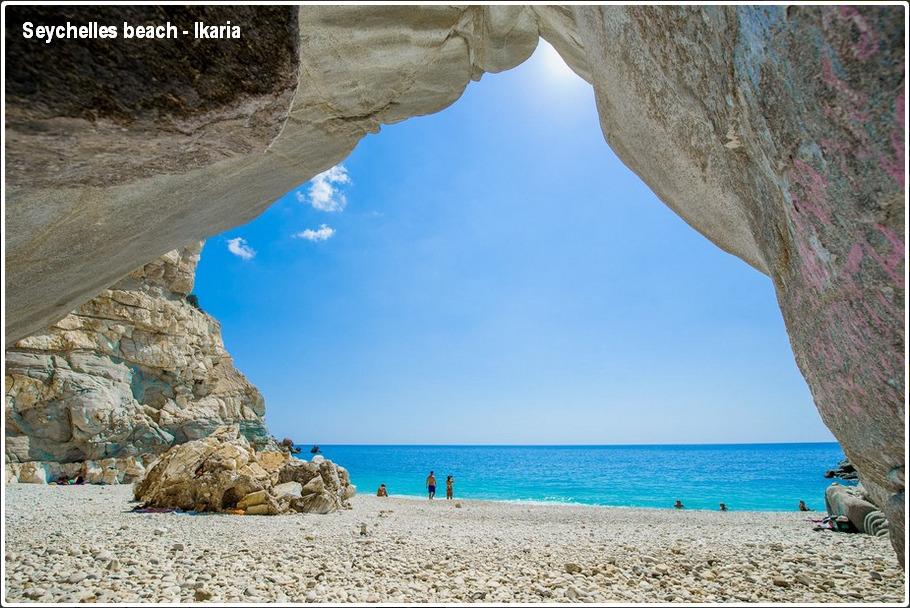 Seychelles beach, Ikaria