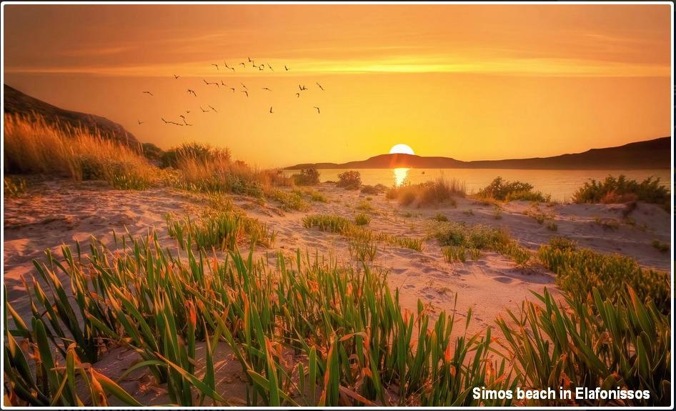 Simos beach, Elafonissos