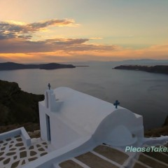Fira, Santorini, Greek Islands, 1080 HD