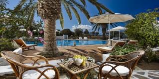 Galaxy Hotel on Naxos island, Greece