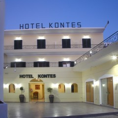 Kontes Hotel in Parikia, Paros, Greece