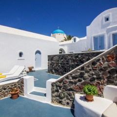 Heliades Apartments in Imerovigli, Santorini, Greece