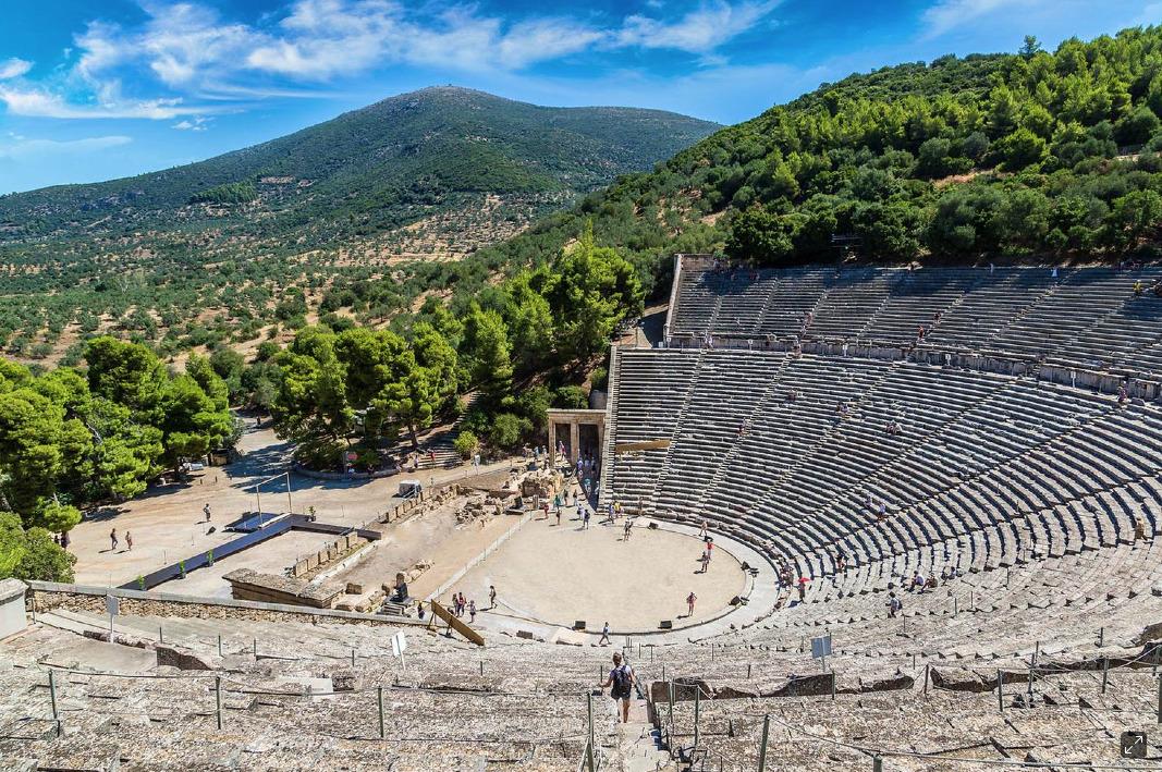 Get dramatic at the Theatre of Epidavros