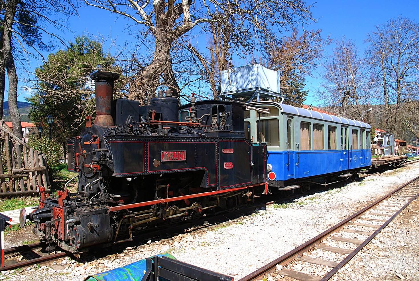 Ride the vintage Diakofto–Kalavryta Railway