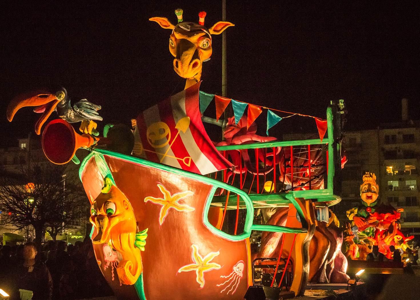 Party at the Patras Carnival