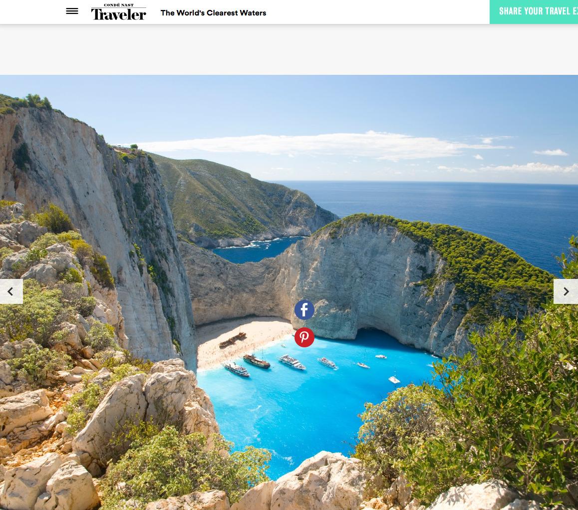 Zakynthos @ The World's Clearest Waters