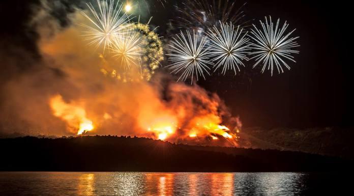 Ηφαίστεια 2016, εικονική έκρηξη του ηφαιστείου της Σαντορίνης