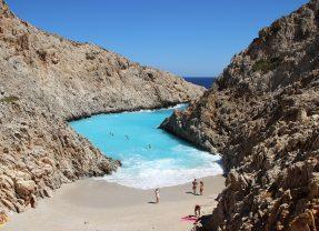 Seitan Limania beach Chania Crete