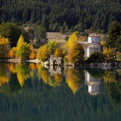 Lake Doxa from above