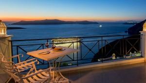 Hotel Villa Renos sunset view