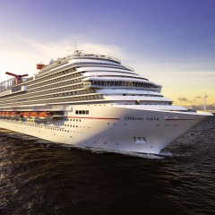 Piraeus home port for Carnival Vista in 2016
