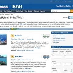 Santorini, Crete and Mykonos among @USNewsTravel Best Islands in the World