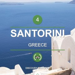 Santorini #4 World Island and #1 Europe Island @ 2015 TripAdvisor Traveler's Choice