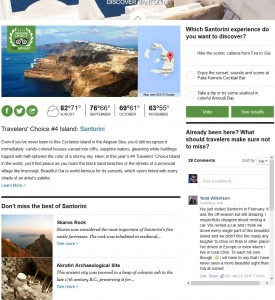 Travelers' Choice #4 Island: Santorini