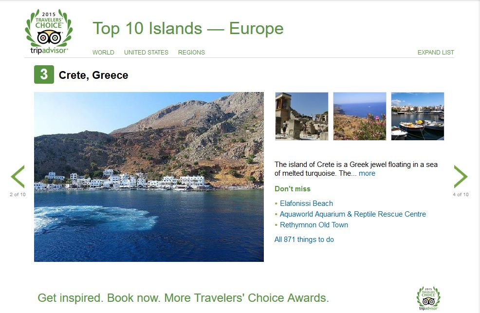 3 Island Europe Crete