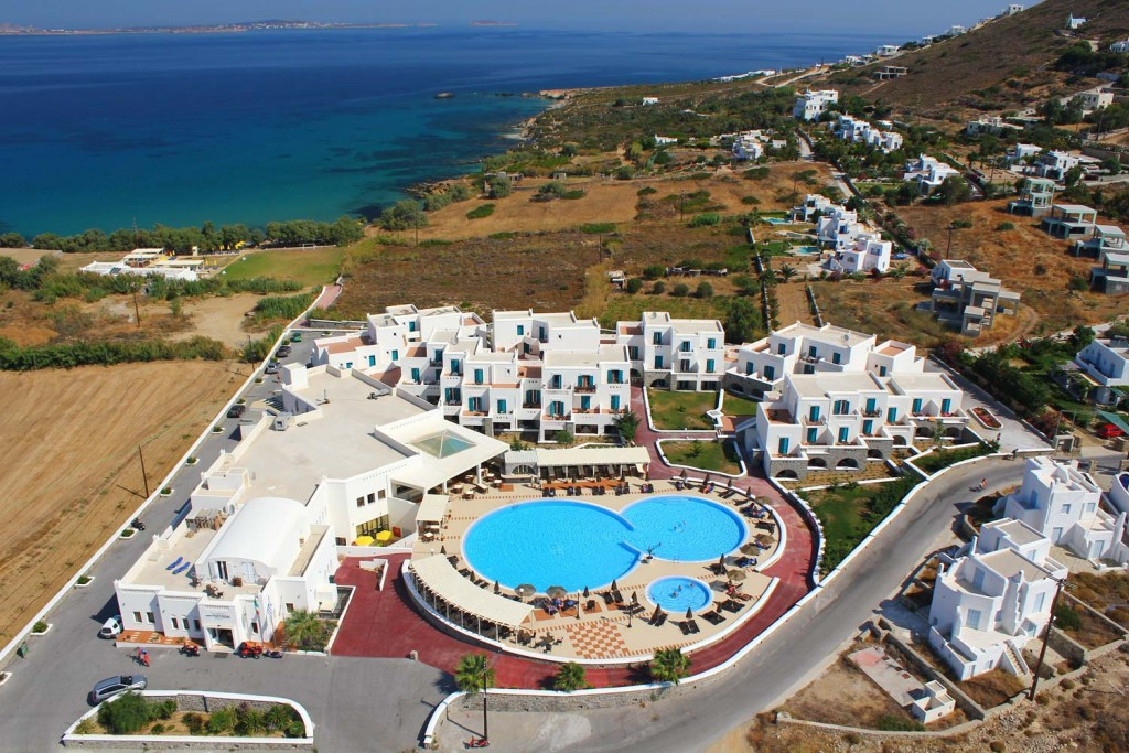 luxury hotel naxos