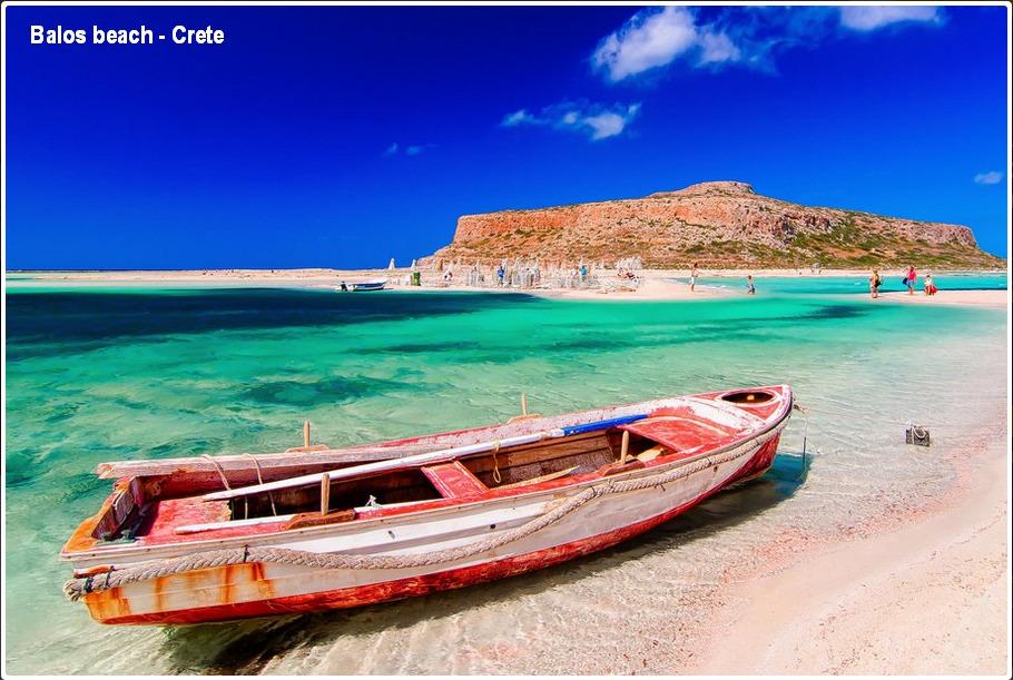 Balos beach, Crete