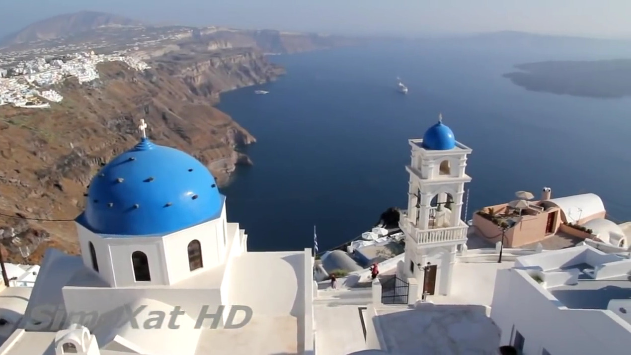 Santorini 2010 HD The best Island in Greece