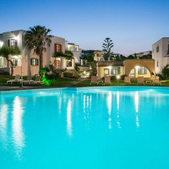 Acqua Marina Resort on Paros island, Greece