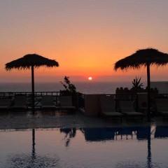 Aegean View Hotel in Kamari, Santorini, Greece