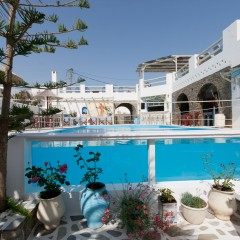 Captain Dounas Hotel on Paros island, Greece