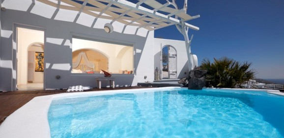 Athermi Suites in Megalochori, Santorini, Greece
