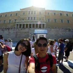 Edmond Ong Travel Trip to Athens, Greece 2015
