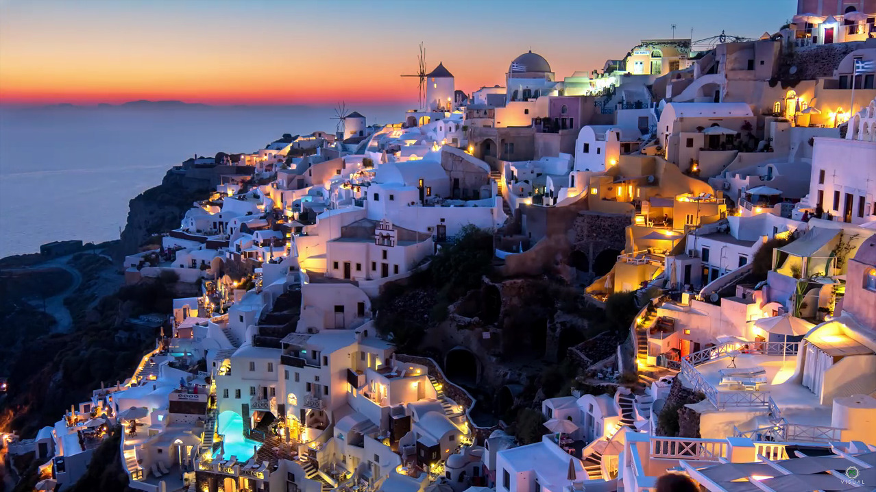 Santorini, a time lapse Adventure