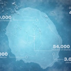 Σαντορίνη ιστορία ηφαιστείου