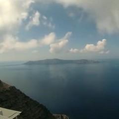 Santorini caldera timelapse