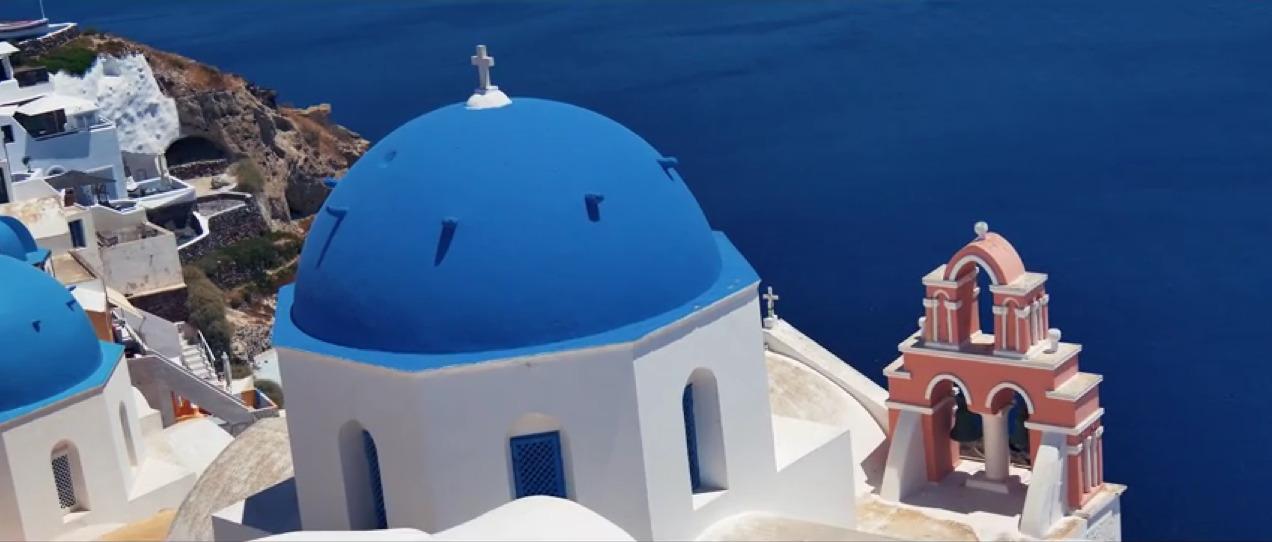 Dream island Santorini 4K Oisris luts