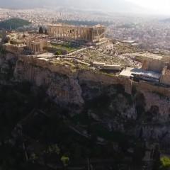 Ακρόπολη & Παρθενώνας από ψηλά