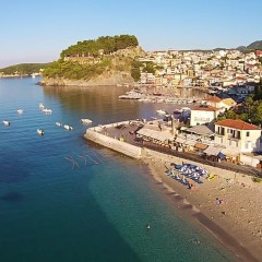 Aerial view of Parga #Greece