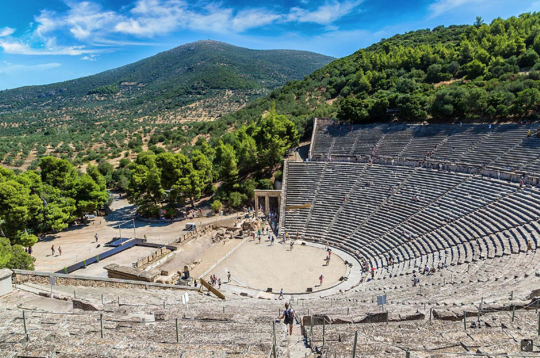 Get dramatic at the Theatre of Epidavros