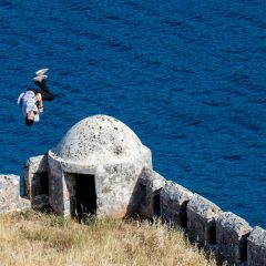 Freerunning with DK @ Spinalonga