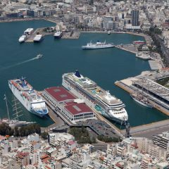 Piraeus cruise terminal