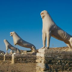 Delos The Island of Gods, Apollo, Unesco Heritage, Drone