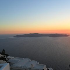 A Sunset Serenade for Santorini @ Huffington Post