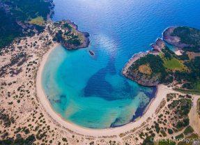 Βιοιδοκοιλιά παραλία Ναυρίνο | 4k | drone DJI – Phantom 4