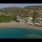 Matala from above by Chania SkyArt