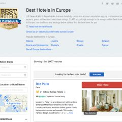 Two Greek hotels on Santorini island among European top-50 list